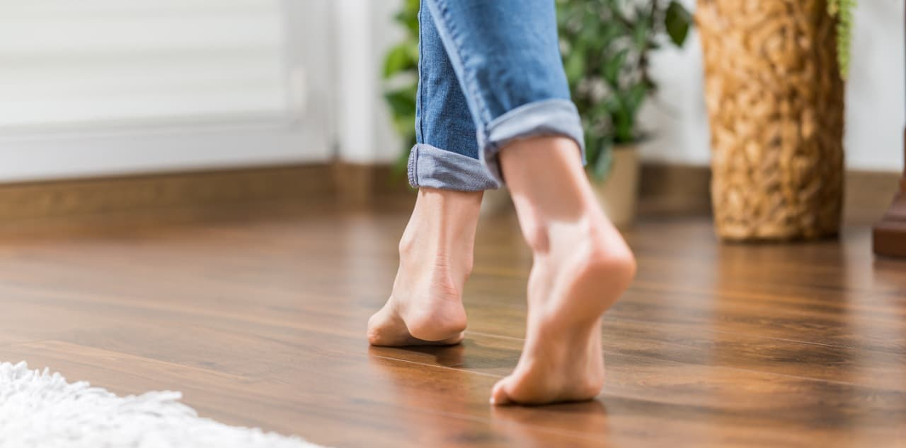 Barefoot at Home