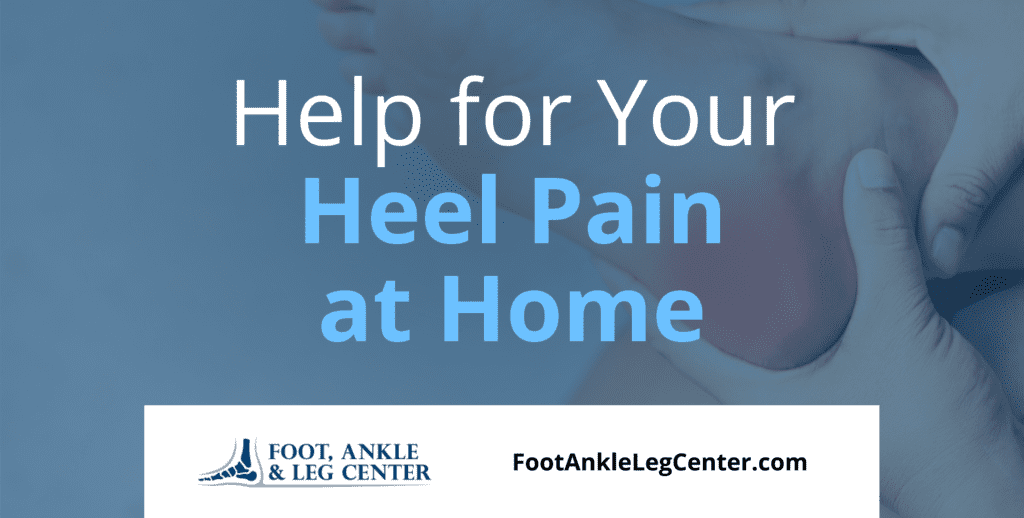 Help for Your Heel Pain at Home 1